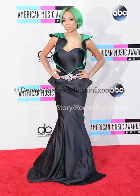 LOS ANGELES, CA - NOVEMBER 24: Lil Mama arrives at   The 2013 American Music Awards held at Nokia Live in Los Angeles, California on November 24,2013                                                                               © 2013 Hollywood Press Agency