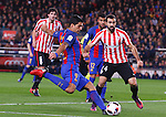 11.01.2017 Barcelona, Copa del Rey 1/8 Finals. Picture show Luis Suarez in action during game between FC Barcelona against Athelic at Camp Nou