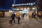 Stockholm 2013-11-26 Bandy Elitserien Hammarby IF - Edsbyns IF :  <br /> Huvudentr&eacute;n till Zinkensdamms IP<br /> (Foto: Kenta J&ouml;nsson) Nyckelord: