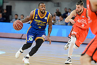 Valencia Basket's Antoine Diot and Herbalife Gran Canaria's Bo McCalebb during Quarter Finals match of 2017 King's Cup at Fernando Buesa Arena in Vitoria, Spain. February 17, 2017. (ALTERPHOTOS/BorjaB.Hojas) /Nortephoto.com