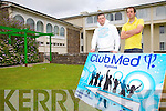 'Club Med Nightclub' to Open in The Waterville Lake Hotel, pictured here the two men behind the venture pictured here l-r; 'Mixer'(Michael O'Shea) & 'Johnny Cee'(John Coffey).....Ref Shaz for Feature