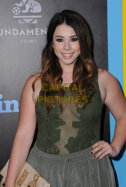 01 August 2016 - Hollywood, California. Jillian Rose Reed. World premiere of &quot;Nine Lives&quot; held at the TCL Chinese Theatre. <br /> CAP/ADM/BT<br /> &copy;BT/ADM/Capital Pictures