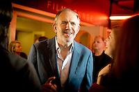 Anton Corbijn kommt am Donnerstag (04.09.{year2) in Berlin zur Premier des Films  &quot;A Most Wanted Man&quot;, bei dem er die Regie f&uuml;hrte.<br /> Foto: Axel Schmidt/CommonLens