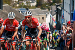 The peleton climb La Cote de Saint-Roch in Houffalize during the 104th edition of La Doyenne, 2018  Liège-Bastogne-Liège, Belgium, 22 April 2018, Photo by Pim Nijland / PelotonPhotos.com | All photos usage must carry mandatory copyright credit (Peloton Photos | Pim Nijland)