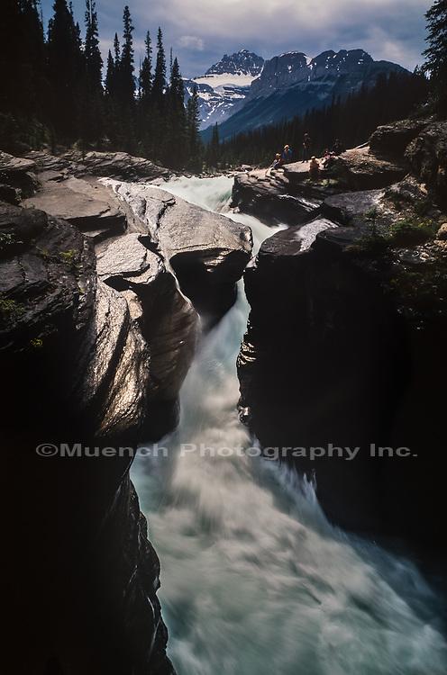 Mistaya Gorge,Banff National Park, Canada AB
