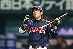 Katsuya Kakunaka (JPN), .MARCH 6, 2013 - WBC : .2013 World Baseball Classic .1st Round Pool A .between Japan 3-6 Cuba .at Yafuoku Dome, Fukuoka, Japan. .(Photo by YUTAKA/AFLO SPORT) [1040]