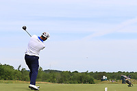 Scott Piercy (USA) tees off the 4th tee during Friday's Round 2 of the 117th U.S. Open Championship 2017 held at Erin Hills, Erin, Wisconsin, USA. 16th June 2017.<br /> Picture: Eoin Clarke | Golffile<br /> <br /> <br /> All photos usage must carry mandatory copyright credit (&copy; Golffile | Eoin Clarke)