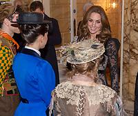 18 November 2019 - London, UK - Prince William Duke of Cambridge and Kate Duchess of Cambridge, Katherine, Catherine Middleton at the Royal Variety Performance held at the Palladium Theatre. Photo Credit: ALPR/AdMedia