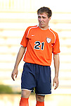 09 September 2011: Virginia's Ryan Zinkhan. The University of Virginia Cavaliers defeated the Duke University Blue Devils 1-0 at Koskinen Stadium in Durham, North Carolina in an NCAA Division I Men's Soccer game.