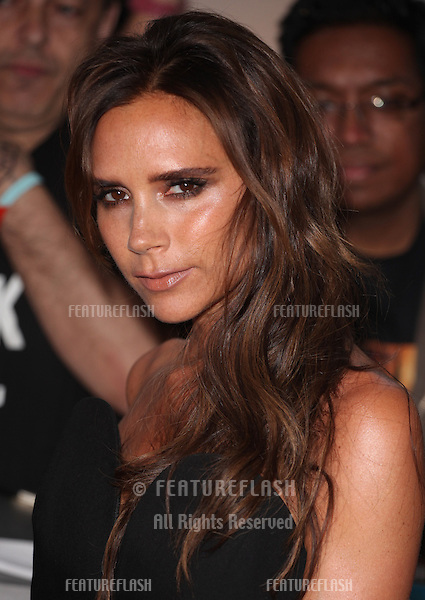Victoria Beckham arriving for the 013 Glamour Awards, Berkeley Square, London. 04/06/2013 Picture by: Alexandra Glen / Featureflash