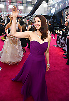 Ashley Judd arrives at the Oscars on Sunday, March 4, 2018, at the Dolby Theatre in Los Angeles. (Photo by Charles Sykes/Invision/AP)