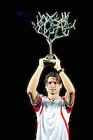 Joie de David FERRER  - 04.11.2012 -  Finale Masters 1000 de Paris Bercy 2012 - .Photo: Amandine Noel / Icon Sport