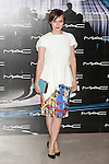 Actress Aura Garrido poses at a MAC makeup new season photocall at Italy Consulate in Madrid, Spain. June 26, 2014. (ALTERPHOTOS/Victor Blanco)