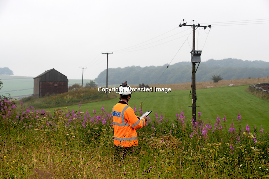 24/07/19<br /> <br /> 'Before' photo ahead of line removal work at Biggin, Derbyshire.<br /> <br /> All Rights Reserved, F Stop Press Ltd +44 (0)7765 242650 www.fstoppress.com rod@fstoppress.com
