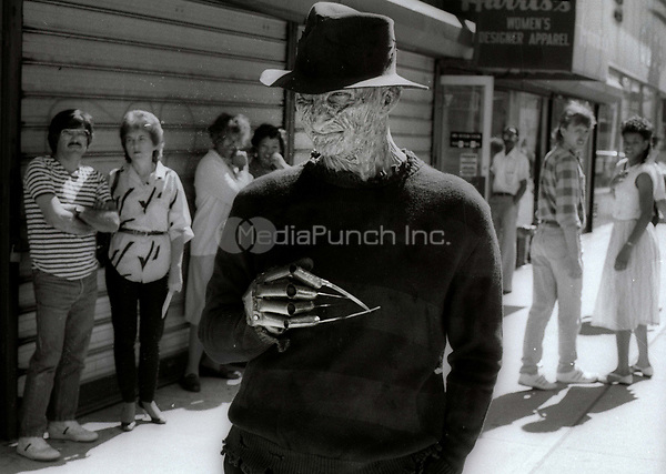 Robert Englund as Freddy Krueger<br /> Photo By Adam Scull/PHOTOlink.net /MediaPunch