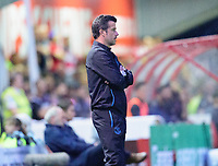 Everton manager Marco Silva shouts instructions to his team from the technical area<br /> <br /> Photographer Andrew Vaughan/CameraSport<br /> <br /> The Carabao Cup Second Round - Lincoln City v Everton - Wednesday 28th August 2019 - Sincil Bank - Lincoln<br />  <br /> World Copyright © 2019 CameraSport. All rights reserved. 43 Linden Ave. Countesthorpe. Leicester. England. LE8 5PG - Tel: +44 (0) 116 277 4147 - admin@camerasport.com - www.camerasport.com