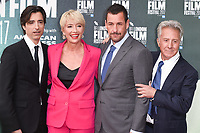 Director Noah Baumbach, Emma Thompson, Adam Sandler &amp; Dustin Hoffman at the London Film Festival 2017 screening of &quot;The Meyerowitz Stories&quot; at the Embankment Gardens Cinema, London, UK. <br /> 07 October  2017<br /> Picture: Steve Vas/Featureflash/SilverHub 0208 004 5359 sales@silverhubmedia.com