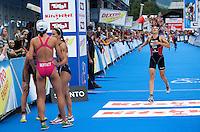 12 JUL 2009 - KITZBUHEL, AUT - Kathy Tremblay - ITU World Championship Series Womens Triathlon.(PHOTO (C) NIGEL FARROW)
