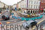 Roadworks in Tralee on Wednesday.