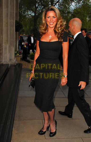 CLAIRE SWEENEY.Arrivals at the Sony Radio Academy Awards 2006 at Grosvenor House Hotel, London, UK..May 8th, 2006.Ref: CAN.full length black jeans.www.capitalpictures.com.sales@capitalpictures.com.© Capital Pictures.