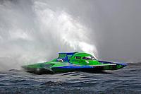 "Brandon Kennedy, GP-25 ""EMS Survior"" (Grand Prix Hydroplane(s)<br /> <br /> Régates de Valleyfield<br /> Salaberry Valleyfield, Québec Canada <br /> 10-12 July, 2015<br /> <br /> ©2015, Sam Chambers"