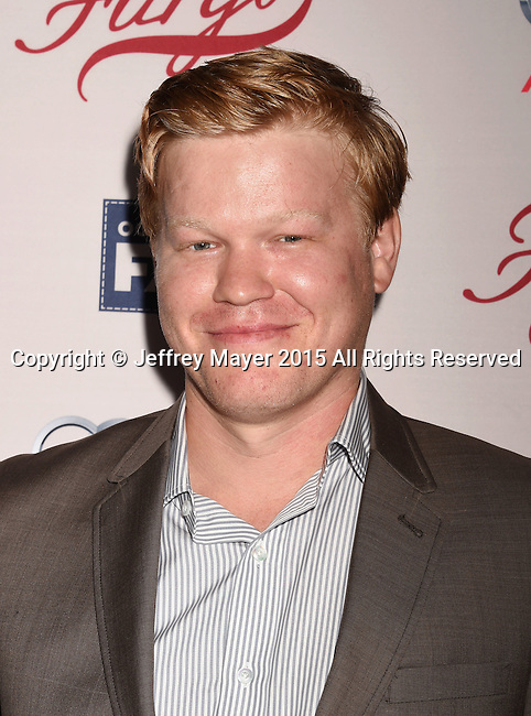 HOLLYWOOD, CA - OCTOBER 07: Actor Jesse Plemons attends the premiere of FX's 'Fargo' Season 2 held at ArcLight Cinemas on October 7, 2015 in Hollywood, California.