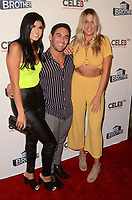 """LOS ANGELES - SEP 26:  Analyse Talavera, Tommy Bracco, Christie Murphy at the """"Big Brother"""" 21 Finale Party at the Edison on September 26, 2019 in Los Angeles, CA"""