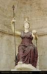 Dea Roma Niche Michelangelo Stairs Palazzo Senatorio Campidoglio Capitoline Hill Rome