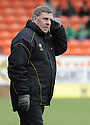 22/03/2008    Collect Pic: James Stewart.File Name : sct_jspa05_dundee_utd_v_motherwell.MOTHERWELL MANAGER MARK MCGHEE WATCHES HIS SIDE AGAINST DUNDEE UTD.James Stewart Photo Agency 19 Carronlea Drive, Falkirk. FK2 8DN      Vat Reg No. 607 6932 25.Studio      : +44 (0)1324 611191 .Mobile      : +44 (0)7721 416997.E-mail  :  jim@jspa.co.uk.If you require further information then contact Jim Stewart on any of the numbers above........