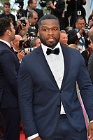 Curtis Jackson, aka 50 Cent at the gala screening for &quot;Solo: A Star Wars Story&quot; at the 71st Festival de Cannes, Cannes, France 15 May 2018<br /> Picture: Paul Smith/Featureflash/SilverHub 0208 004 5359 sales@silverhubmedia.com