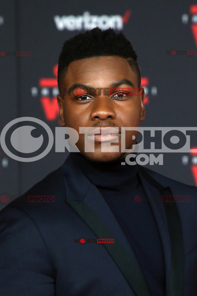 LOS ANGELES, CA - DECEMBER 9: John Boyega at the World Premiere of Lucasfilm's Star Wars: The Last Jedi at The Shrine Auditorium in Los Angeles, California on December 9, 2017.  Credit: Faye Sadou/MediaPunch /NortePhoto.com NORTEPHOTOMEXICO