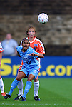 17 May 2003: Maribel Dominguez (13) and Michelle French (rear). The Atlanta Beat defeated the San Jose CyberRays 1-0 at Herndon Stadium in Atlanta, GA in a regular season WUSA game.