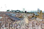The devastated Rossbeigh beach on Monday