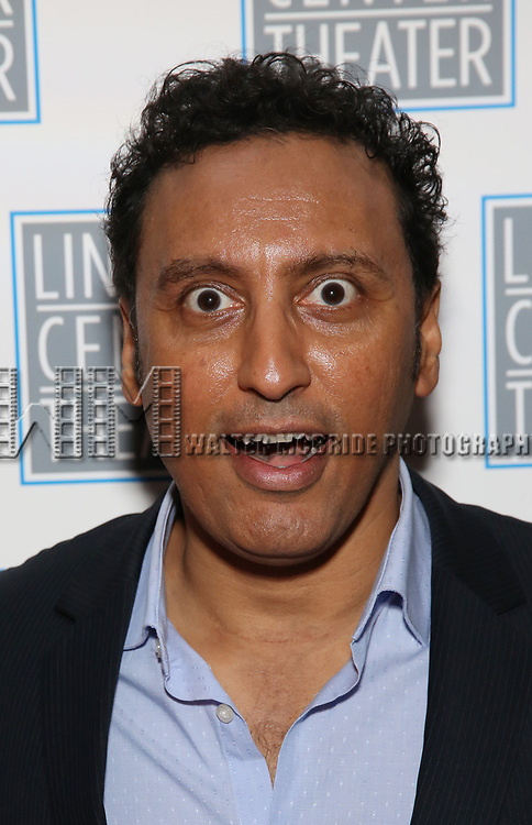 Aasif Mandvi attends the Opening Night After Party for the Lincoln Center Theater Production of 'Junk' on November 2, 2017 at Tavern On The Green in New York City.