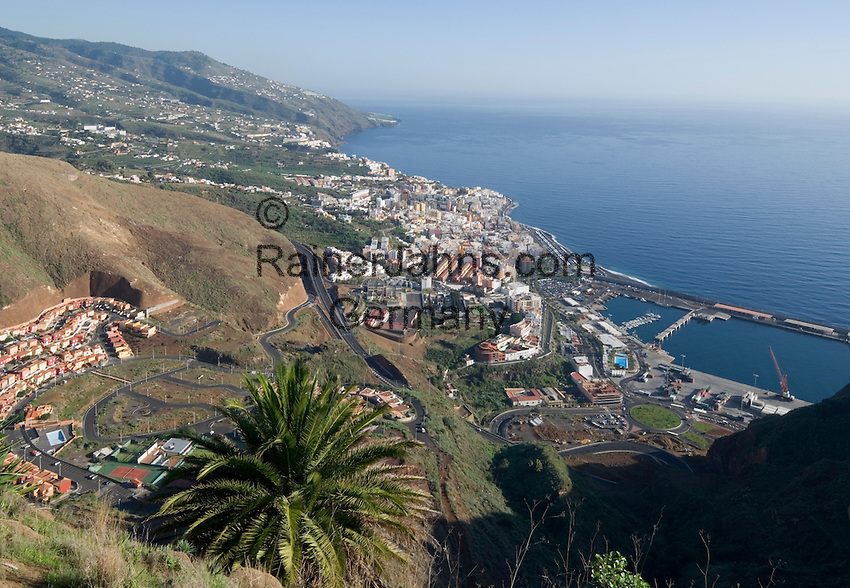 Spain, Canary Islands, La Palma, Santa Cruz de La Palma: capital - overview