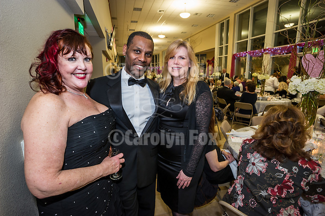 7th annual Valantine's Dinner, Love-A-Fair Ball fundraising event by the Amador County Fair Foundation at St. Katharine Drexel parish hall, Martell, Calif.