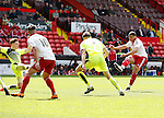 Che Adams of Sheffield Utd takes a shot on goal during the PDL U21 Final at Bramall Lane Sheffield. Photo credit should read: Simon Bellis/Sportimage