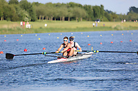 Race: 111  Event: Coxless Pairs - Tier 3 - Final<br /> <br /> National Schools Regatta 2018<br /> Sunday<br /> <br /> To purchase this photo, or to see pricing information for Prints and Downloads, click the blue 'Add to Cart' button at the top-right of the page. The Metropolitan Regatta 2018