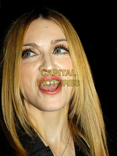 "MADONNA.arrivals at UK film premiere ""Revolver"".Odeon cinema, Leicester Square.London, 20 September 2005.Ref: IA.portrait headshot.www.capitalpictures.com.sales@capitalpictures.com.©Capital Pictures"