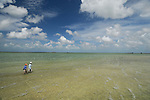 Fly fishing for Bonefish in Abaco Bahamas