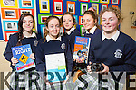 Presentation secondary school, Tralee TY Students Bronwyn Hannafin, Lauren Kelly, Olivia Carmody, Amy Doyle and Kathrina Horgan  were nominated for the youth connect video competition