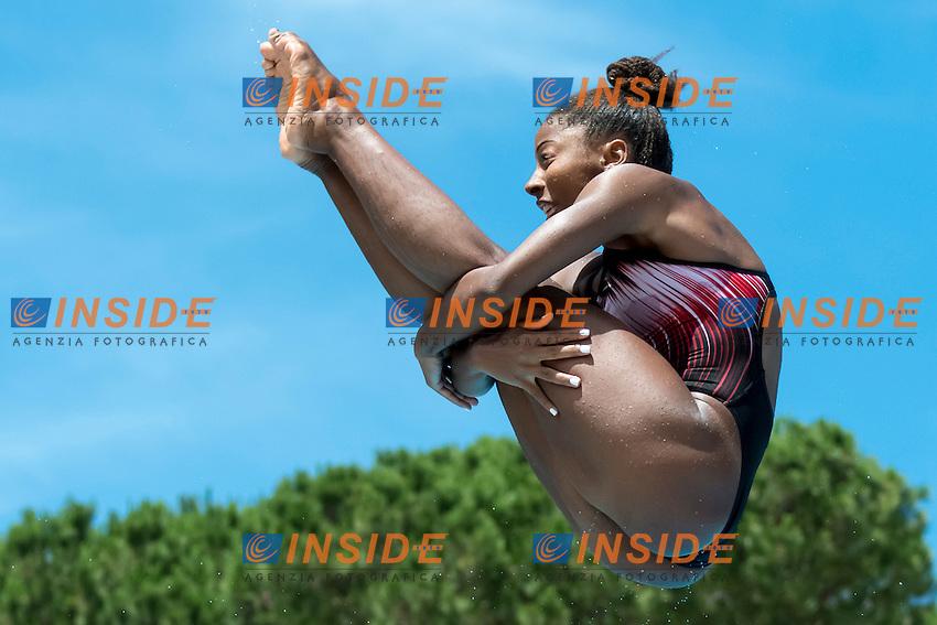Jennifer Abel Canada <br /> 3m springboard women <br /> Roma 21-06-2016 Stadio del Nuoto Foro Italico Tuffi Campionati Italiani <br /> Foto Andrea Staccioli Insidefoto