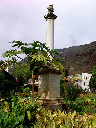 Waterwitch memorial in St Helena