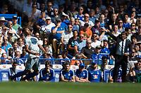 Everton's Mason Holgate in action     <br /> <br /> <br /> Photographer Craig Mercer/CameraSport<br /> <br /> The Premier League - Chelsea v Everton - Sunday 27th August 2017 - Stamford Bridge - London<br /> <br /> World Copyright &copy; 2017 CameraSport. All rights reserved. 43 Linden Ave. Countesthorpe. Leicester. England. LE8 5PG - Tel: +44 (0) 116 277 4147 - admin@camerasport.com - www.camerasport.com