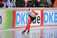 SCHAATSEN: BOEDAPEST: Essent ISU European Championships, 06-01-2012, 3000m Ladies, Sara Bak DEN, ©foto Martin de Jong