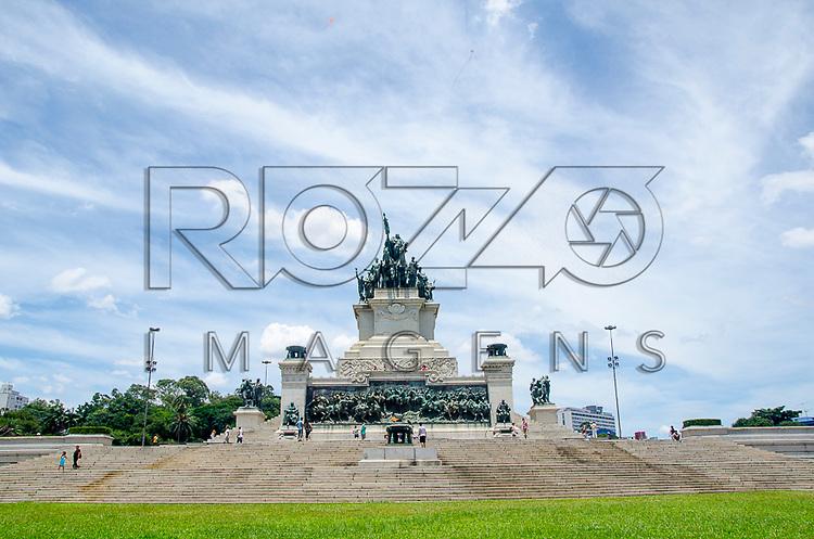 Monumento à Independência, de Ettore Ximenes, 1922. Museu Paulista da Universidade de São Paulo, conhecido como Museu do Ipiranga, São Paulo - SP, 03/2013.