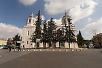 Israel, Jerusalem, The Cathedral of the Holy Trinity in the Russian Compound exterior<br />