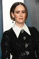 09 February 2020 - Los Angeles, California - Sarah Paulson<br /> . 2020 Vanity Fair Oscar Party following the 92nd Academy Awards held at the Wallis Annenberg Center for the Performing Arts. Photo Credit: Birdie Thompson/AdMedia