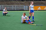 AMSTELVEEN -  Teleurstelling bij Kampong.   finale Kampong MB1-Amsterdam MB1. AMSTERDAM MB1 wint de titel Meisjes B. finales A en B jeugd  Nederlands Kampioenschap.  COPYRIGHT KOEN SUYK