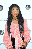LOS ANGELES - AUG 12: Lovie Simone at the 5th Annual BeautyCon Festival Los Angeles at the Convention Center on August 12, 2017 in Los Angeles, California